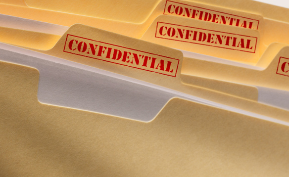 confidential files It's YOUR business: the Importance of confidentiality.